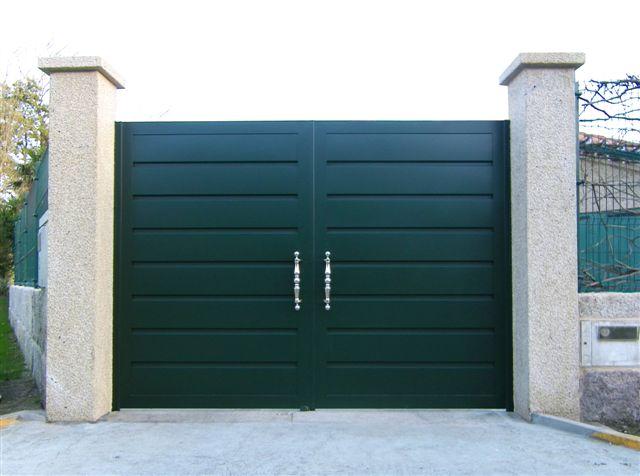 Belporta s a r l servicios - Puertas para jardin de aluminio ...